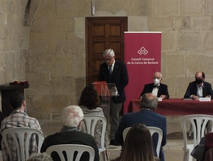 L'escriptor Joan Rendé va presentar el llibre